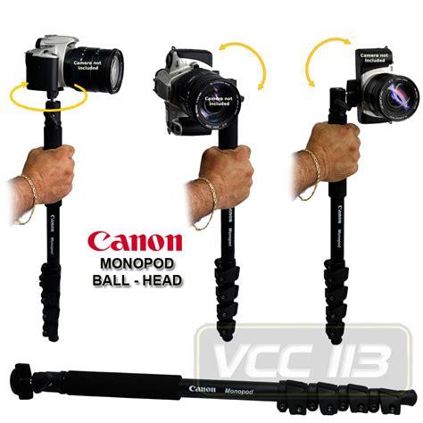 Monopod Canon canon monopod for eos 7d 50d t3i t2i t1i xsi xs xti 550d 600d 500d ebay
