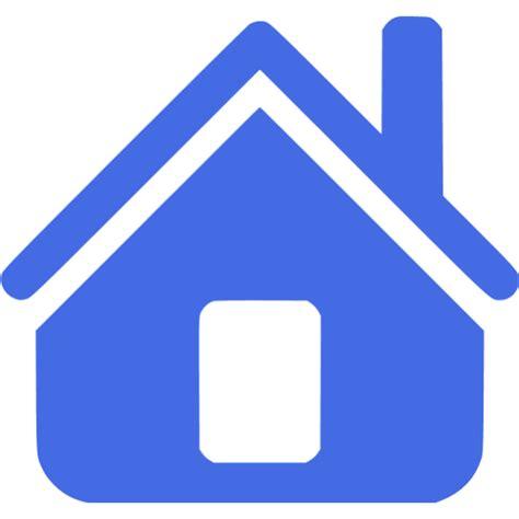 royal blue home icon free royal blue home icons