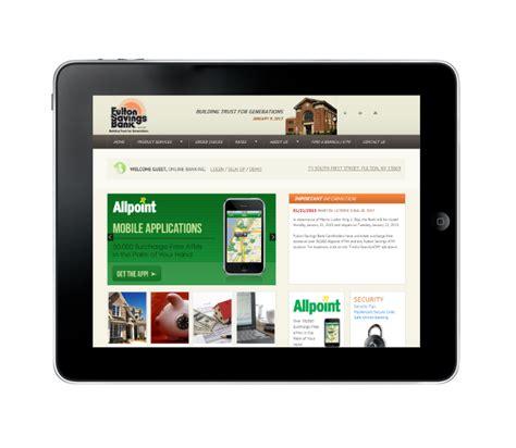Fulton Bank Letter Of Credit Department Bank Responsive Website Design Acs Inc Web Design Seo Syracuse Portfolio
