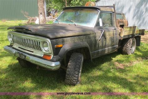 1977 Jeep J10 1977 Jeep J10 Truck No Reserve Auction On