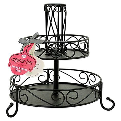 hers bed bath and beyond 2 tier accessory holder bed bath beyond