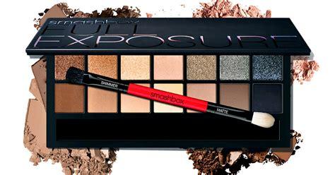 Lorac Best Dressed Palette Hollywoods Carpet Secret by Smashbox Cosmetics Exposure Eyeshadow Palette