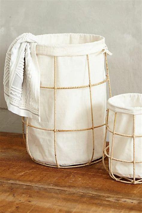 Marvelous Panier A Linge Sale #9: Wäschekorb-bambus-gestell-stoff-waschküche-einrichten.jpg