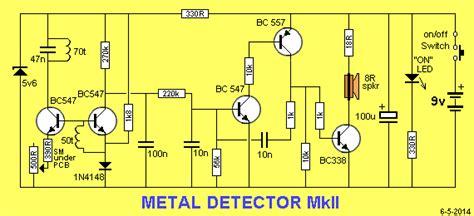 Sho Metal Di Pasaran metal detector mk ii cara mudah belajar elektronika digital