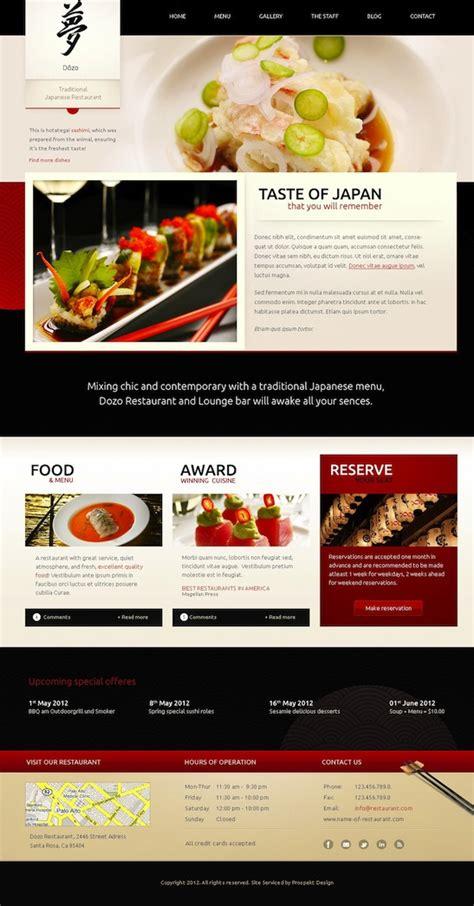 wordpress theme free japan responsive restaurant wordpress theme taste of japan