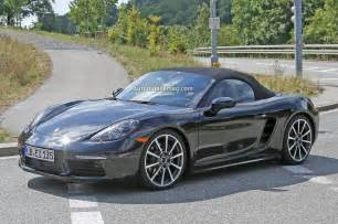 Porsch Boxter Porsche Boxster Cayman To Be Renamed 718 Go Four