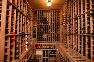 Wine Cellars In Homes - south tampa custom home mediterranean wine cellar tampa by devonshire custom homes