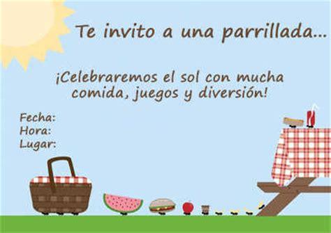 imagenes para wasap de una parrillada invitaciones para tus parrillas y picnics en casa fiesta101