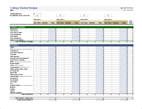 microsoft templates for budgets vertex42 provides budget spreadsheets that work with