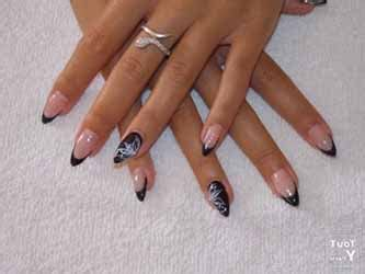 ongle en gel pointu ongles pointu en gel deco ongle fr