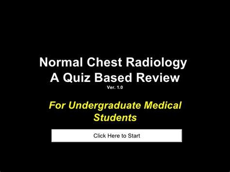 chest radiology quiz