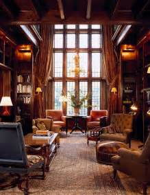 English Home Interiors Downton Abbey Libraries And English On Pinterest