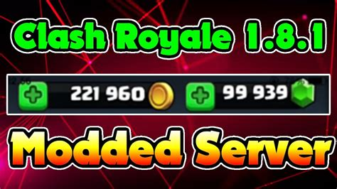 modded for android 1 8 1 clash royale hack for android 20172018 modded server 1 8 1 hckonline