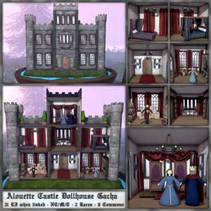 How To Decorate Like A Model Home alouette castle dollhouse gacha love to decorate