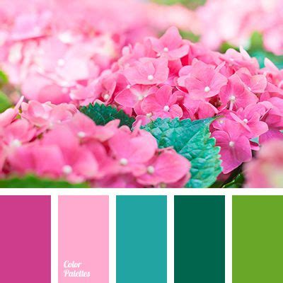 contrasting color to pink color palette 2670 color palette ideas green colors