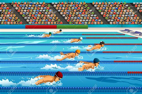 swimmer clip competitive swimmer clipart free images at clker