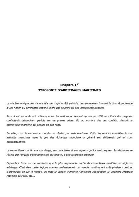 Chambre Arbitrale Maritime De by Arbitrage Maritime
