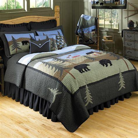 donna sharp bedding donna sharp bear lake quilt