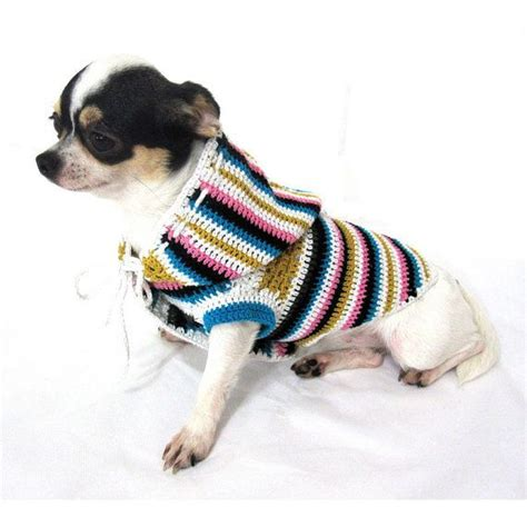 dog coat pattern for chihuahua 17 best images about crochet for dogs on pinterest