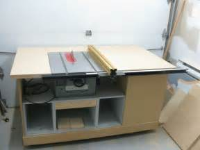 Delta Cabinet Table Saw Build Table Saw Cabinet Plans Woodproject