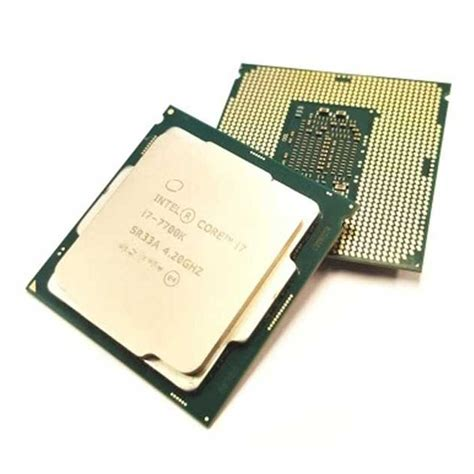 i7 7700k cpu fan خرید پردازنده intel i7 7700k processor بهترین قیمت