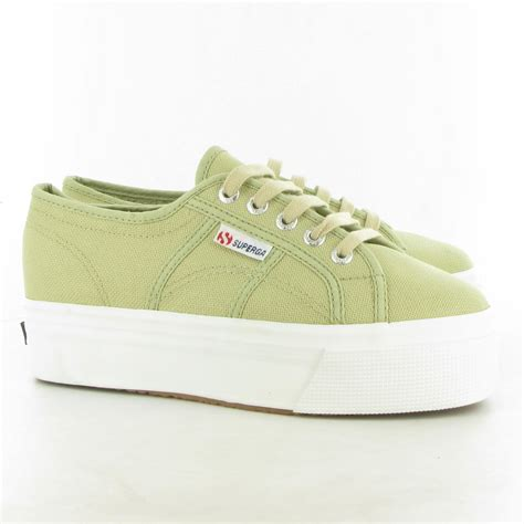 superga shoes superga 2790 flatform canvas shoes in sabbia