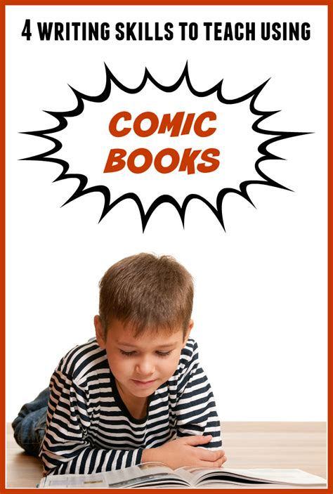 using picture books to teach writing 4 writing skills to teach using comic books as mentor