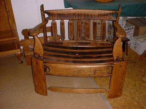 deacon bench with storage mcneil s oak barrel art