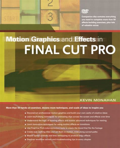 final cut pro education pearson education motion graphics and effects in final