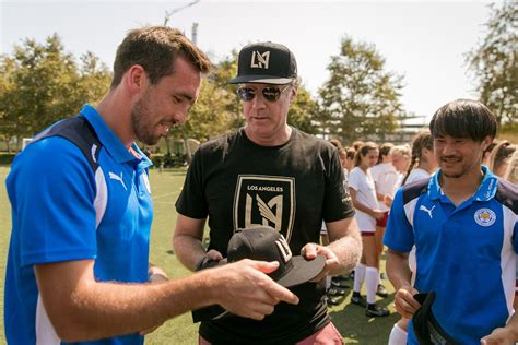 will ferrell lafc will ferrell lafc host premier league chions leicester