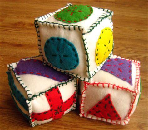 Handmade Baby Blocks - soft blocks for babies