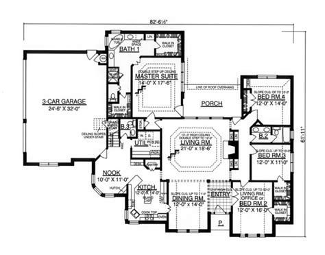 woodhaven floor plan the woodhaven 8213 4 bedrooms and 2 baths the house