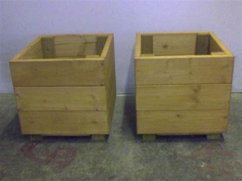 1000 ideas about wooden garden planters on
