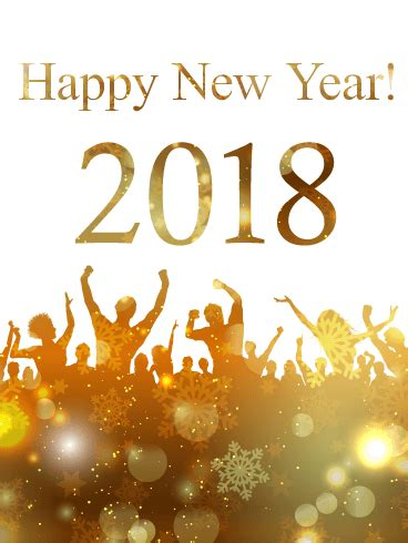 new year 2018 date animal happy new year 2018 ecard