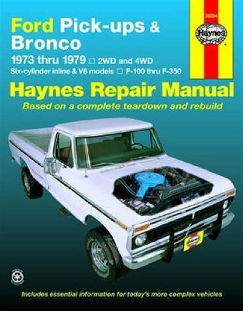 ford bronco     repair manual     ebay