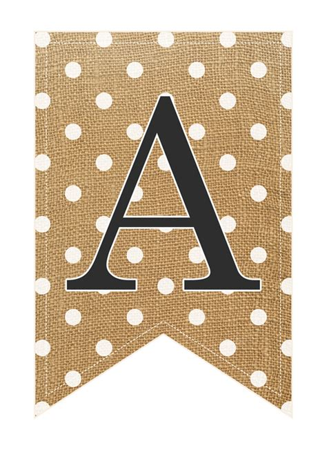 free printable whole alphabet banner free printabe complete alphabet and number burlap banner