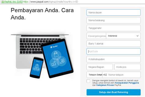 buat kartu kredit secara online panduan cara mudah membuat akun paypal terbaru informasi