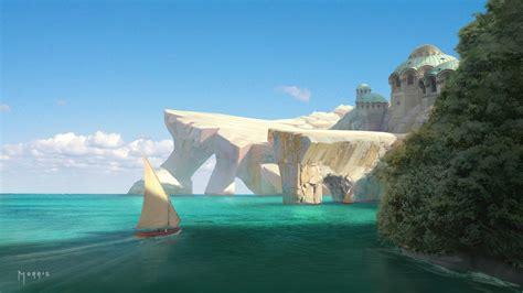 artstation byzantine beach jerome morris
