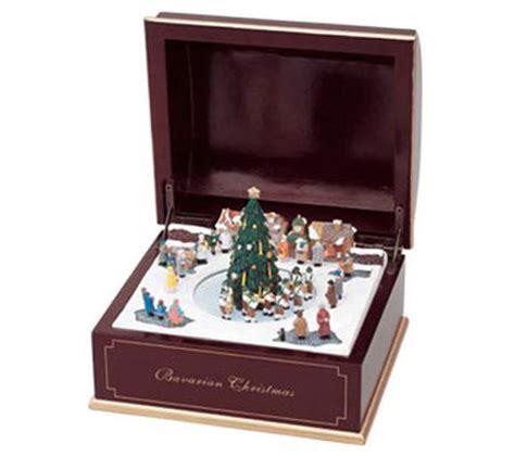 qvc christmas tree pop up mr bavarian pop up box qvc