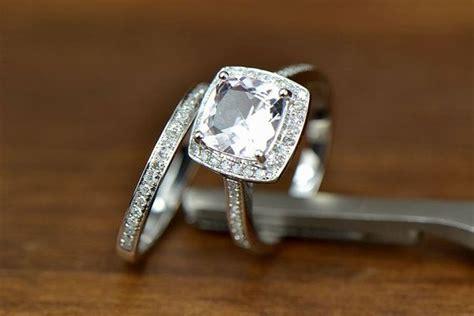 cushion cut cushion cut engagement ring