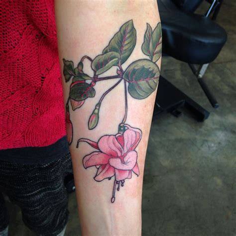 fuschia tattoo designs 46 best images about fuchsia u on