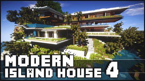 minecraft island house minecraft modern island house 4 island house xalima youtube