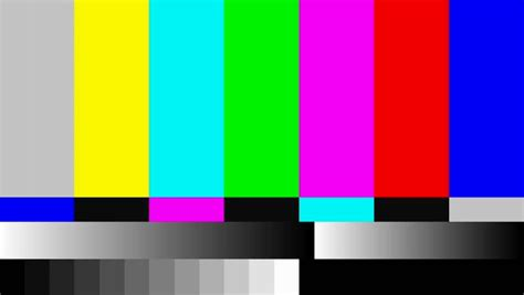 pattern test copyright 4k 4096x2304 static tv color bar test pattern stock
