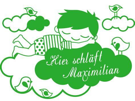 Wandtattoo Kinderzimmer Schlafen by Wandtattoo Kinderzimmer Hier Schl 228 Ft Maximilian Miyo Mori