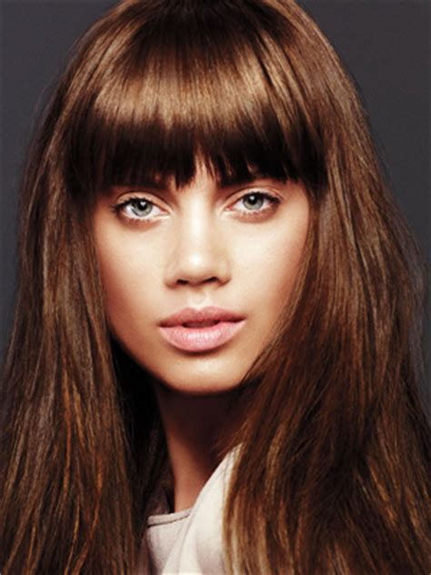 pictures of how tocut a fringe hair around the face cute ways to cut your bangs