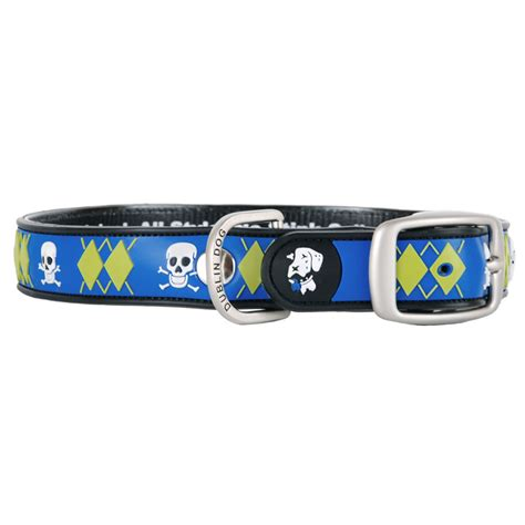 waterproof collars dublin al style no stink waterproof collar argyle mutiny dogorama