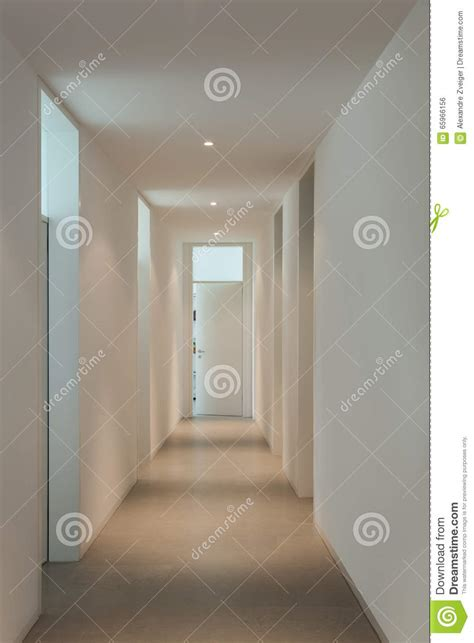 Couloir Maison Moderne by Int 233 Rieur D Une Maison Moderne Couloir Photo Stock