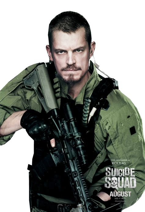Squad Rick Flag png esquadr 227 o suicida squad deadshot amanda