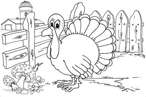 animali da cortile da colorare turkey farm coloring page 600550 171 coloring pages for free