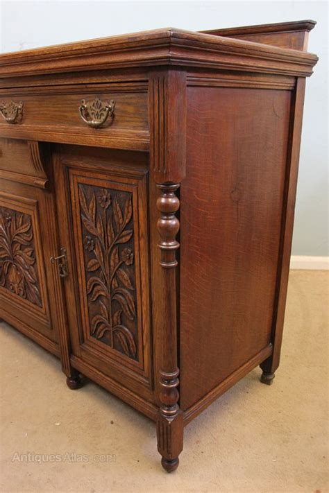 Oak Dressers And Sideboards by Antique Oak Sideboard Dresser Base Antiques Atlas